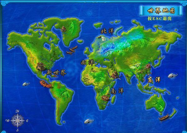 原创上海手绘地图
