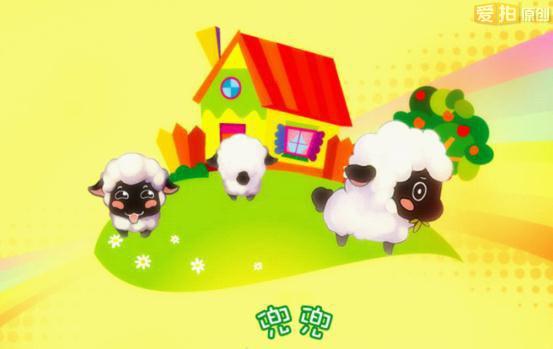 小羊头饰简笔画可爱